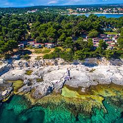 Arena Stoja Campsite in Kroatien